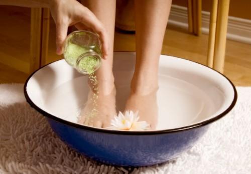 ванны из соли при варикозе